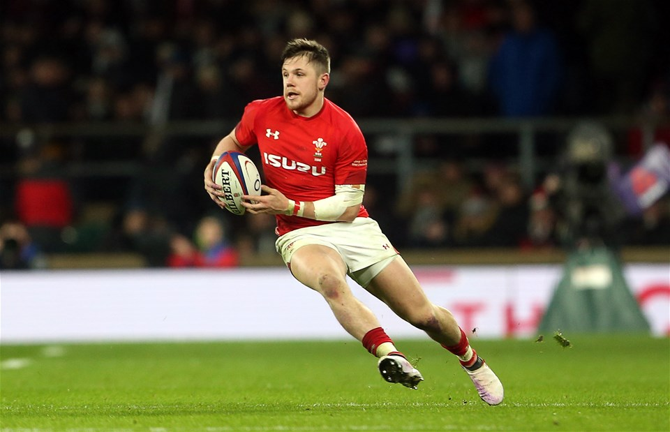 10.02.18 - England v Wales - Natwest 6 Nations - Steff Evans of Wales.