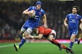 17.03.18 - Wales v France - NatWest 6 Nations Championship - Wenceslas Lauret of France is tackled by Liam Williams of Wales