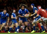 17.03.18 - Wales v France - NatWest 6 Nations - Mathieu Bastareaud of France takes on Cory Hill of Wales