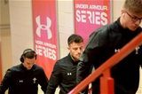 03.11.18 - Wales v Scotland - Doddle Weir Cup - Luke Morgan of Wales arrives.