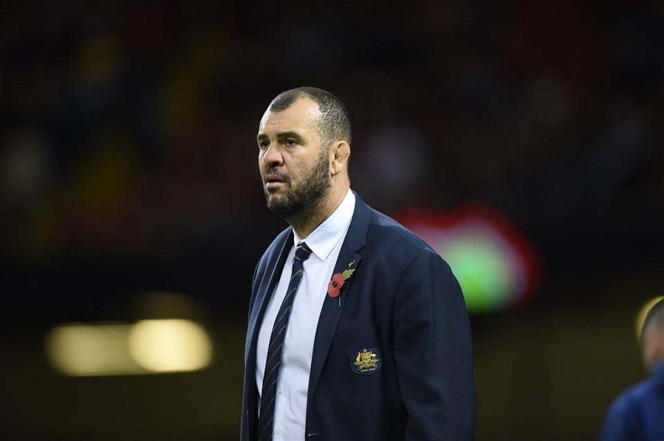 10.11.18 - Wales v Australia - Under Armour Series - Australia head coach Michael Cheika