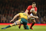 10.11.18 - Wales v Australia, Under Armour Series 2018 - George North of Wales takes on Jack Dempsey of Australia