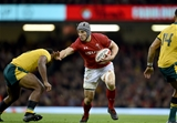 10.11.18 - Wales v Australia - Under Armour Series - Jonathan Davies of Wales is tackled by Samu Kerevi of Australia.