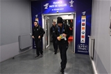 01.02.19 - France v Wales - Guinness 6 Nations 2019 -Tomos Williams, Liam Williams and Justin Tipuric of Wales arrive.