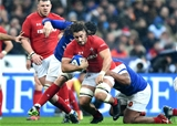 01.02.19 - France v Wales - Guinness 6 Nations 2019 -Josh Navidi of Wales.
