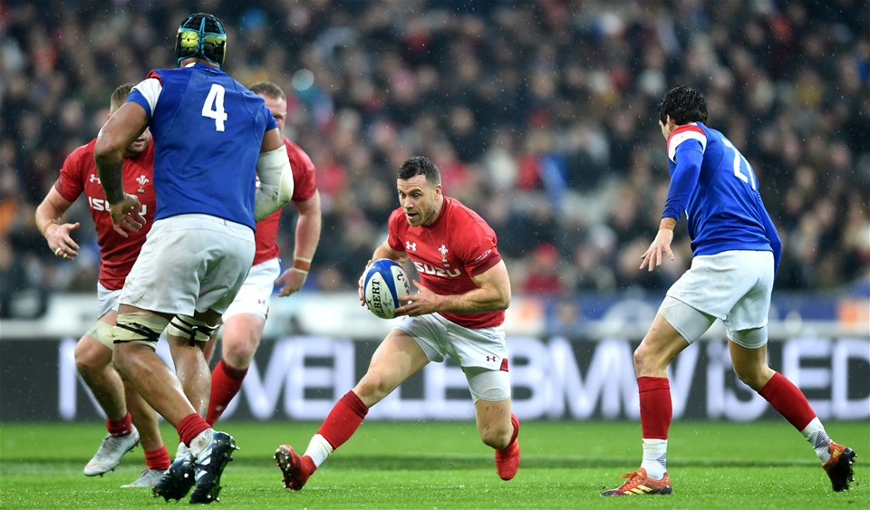 01.02.19 - France v Wales - Guinness 6 Nations 2019 -Gareth Davies of Wales.