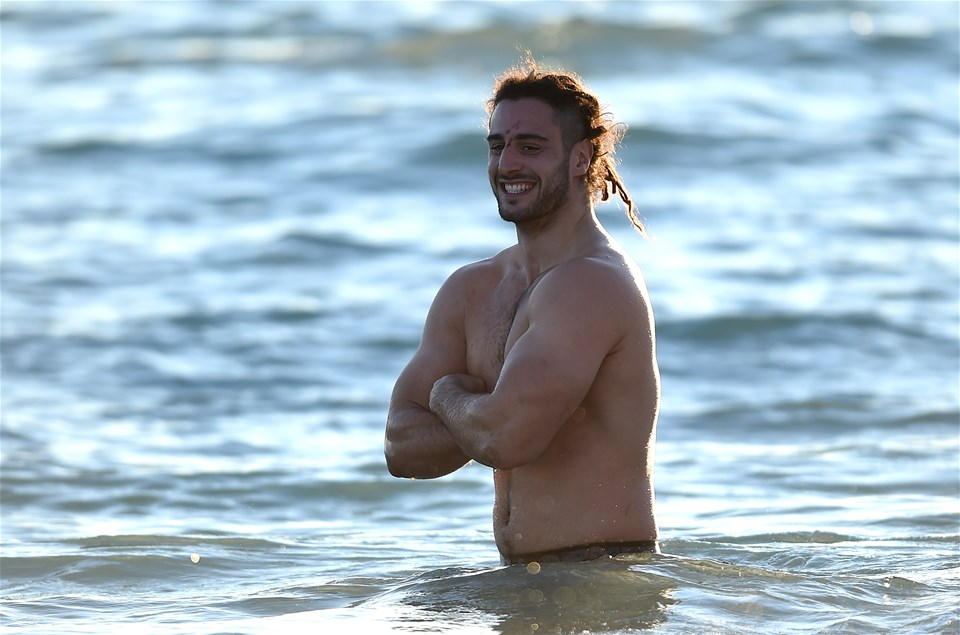 04.02.19 - Wales Rugby Recovery Session -Josh Navidi.
