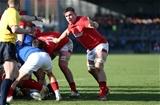 03.02.19 - France U20s v Wales U20s - U20s 6 Nations Championship - Taine Basham of Wales.
