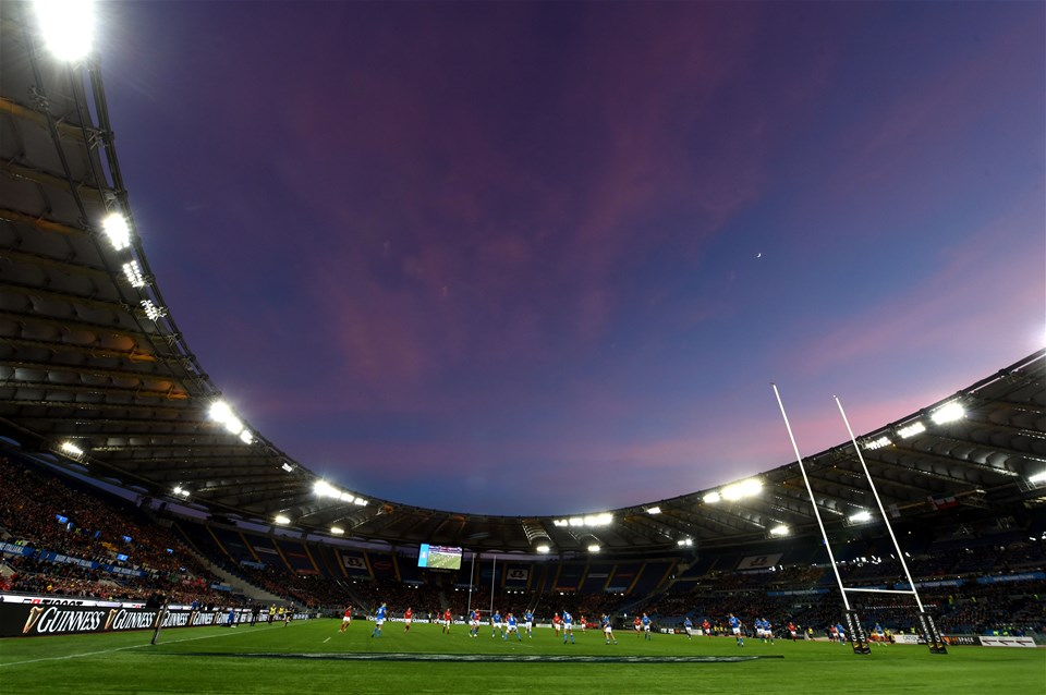 09.02.19 - Italy v Wales - Guinness Six Nations -A general view of Stadio Olimpico ahead of kick off.