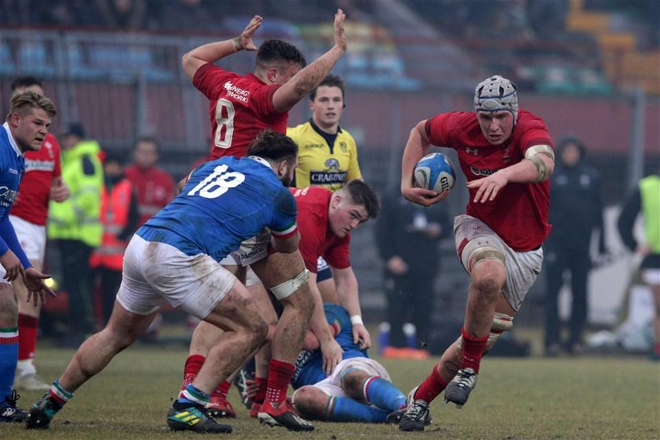 10.02.19 - Italy v Wales - Guinness U20 Six Nations - Ed Scragg