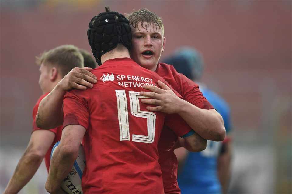 10.02.19 - Italy v Wales - Guinness U20 Six Nations -