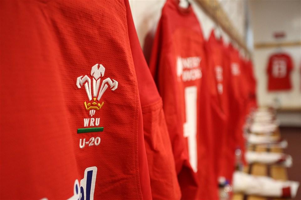 22.02.19 - Wales U20s v England U20s - U20s 6 Nations Championship - Wales dressing room pre match.