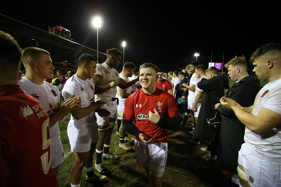 22.02.19 - Wales U20s v England U20s - U20s 6 Nations Championship - Dan Babos of Wales.