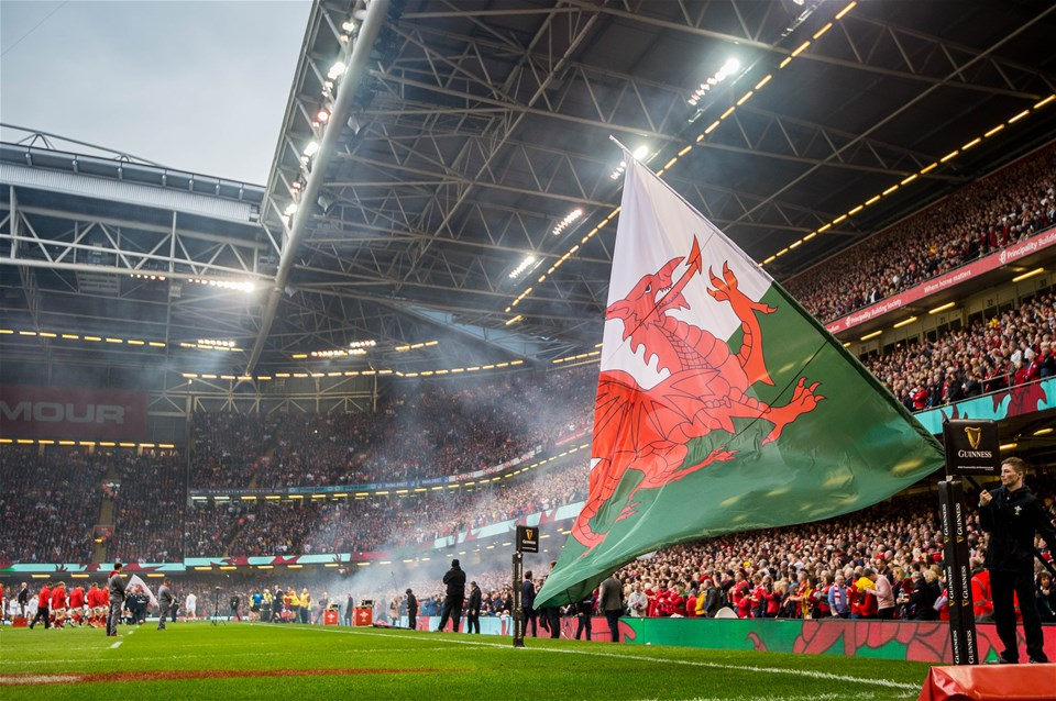 23.02.19 - Wales v England, Guinness Six Nations  - view of the stadium ahead of the game