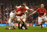 23.02.19 - Wales v England, Guinness Six Nations - Josh Navidi of Wales looks to break away