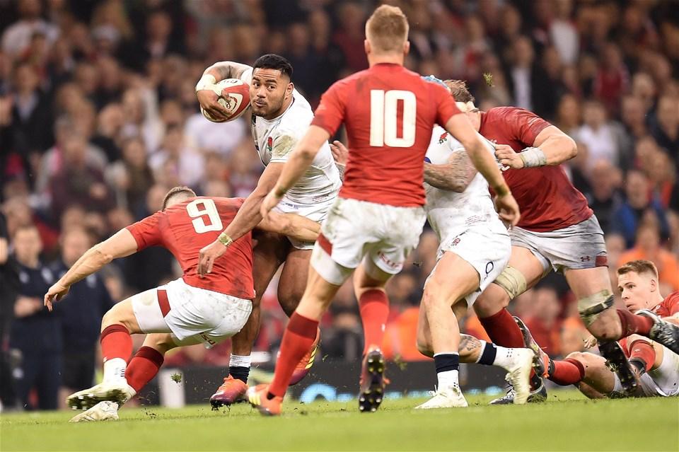 23.02.19 - Wales v England - Guinness Six Nations - Manu Tuilagi of England