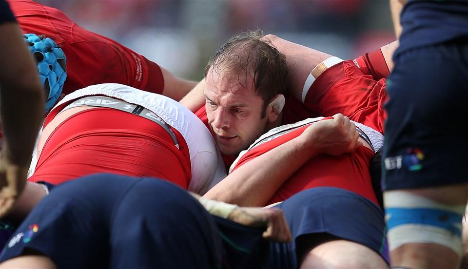 09.03.19 - Scotland v Wales - Guinness 6 Nations - Alun Wyn Jones of Wales.