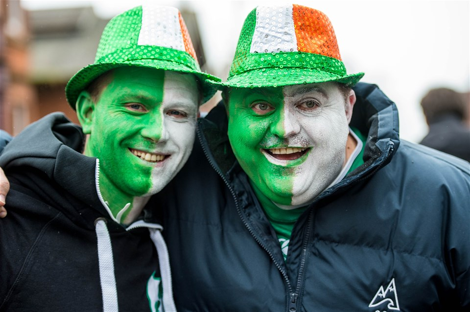 16.03.19 - Wales v Ireland - Guinness Six Nations - Fans ahead of the game