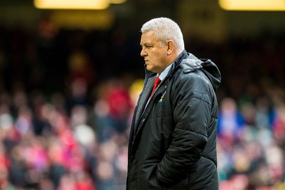 16.03.19 - Wales v Ireland - Guinness Six Nations - Wales head coach Warren Gatland