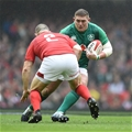 16.03.19 - Wales v Ireland - Guinness Six Nations - Tadhg Furlong of Ireland takes on Ken Owens of Wales