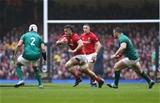 16.03.19 - Wales v Ireland, Guinness Six Nations Championship 2019 - Josh Navidi of Wales charges forward