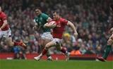 16.03.19 - Wales v Ireland - Guinness 6 Nations Championship - Gareth Davies of Wales makes a break.