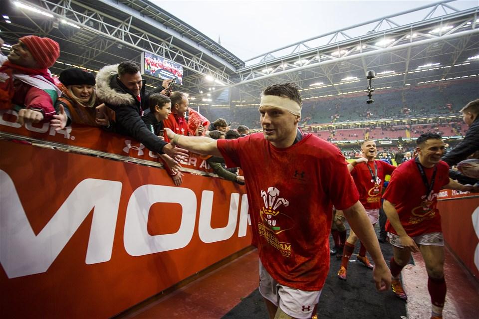 16.03.19 - Wales v Ireland - Guinness 6 Nations Championship - Dan Biggar of Wales walks up the tunnel.