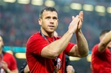 16.03.19 - Wales v Ireland - Guinness Six Nations - Gareth Davies of Wales celebrates after the game