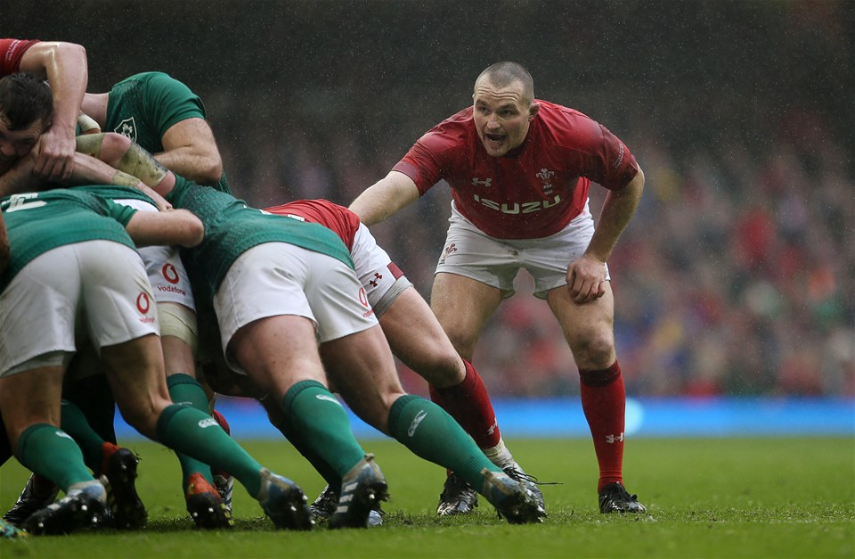 16.03.19 - Wales v Ireland - Guinness 6 Nations Championship - Ken Owens of Wales.