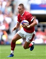 11.08.19 - England v Wales - Quilter International -Liam Williams of Wales.