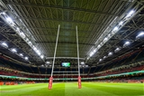 31.08.19 - Wales v Ireland, Under Armour Summer Series - RWC Warmup - A closed stadium roof at the Principality Stadium