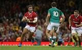 31.08.19 - Wales v Ireland - Under Armour Summer Series - RWC Warm Up - Josh Navidi of Wales.