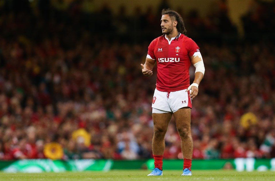 31.08.19 - Wales v Ireland, Under Armour Summer Series 2019 - Josh Navidi of Wales