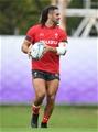 21.09.19 - Wales Rugby Training -Josh Navidi during training.