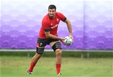 21.09.19 - Wales Rugby Training -Justin Tipuric during training.