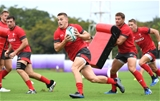 21.09.19 - Wales Rugby Training -Jonathan Davies during training.
