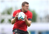 21.09.19 - Wales Rugby Training -Hadleigh Parkes during training.
