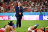 23.09.19 - Wales v Georgia - Rugby World Cup 2019 - Pool D - Wales head coach Warren Gatland.