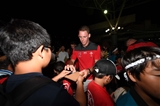 01.10.19 - Wales Rugby Welcome to Otsu - Liam Williams meets locals.