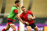 08.10.19 - Wales Rugby Training -Liam Williams during training.