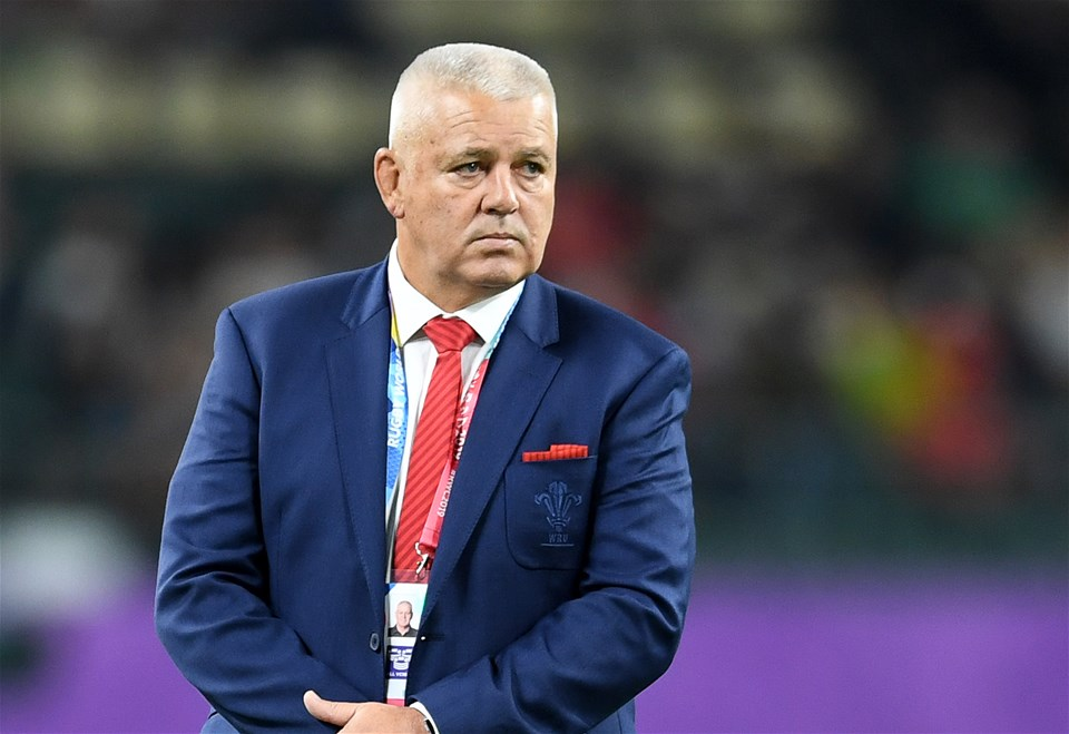 09.10.19 - Wales v Fiji - Rugby World Cup - Pool D - Wales head coach Warren Gatland.