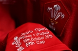 13.10.19 - Wales v Uruguay - Rugby World Cup -Justin Tipuric of Wales jersey.