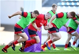 26.10.19 - Wales Rugby Training -Ken Owens during training.