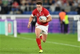 27.10.19 - Wales v South Africa - Rugby World Cup Semi-Final - Josh Adams of Wales runs with the ball.
