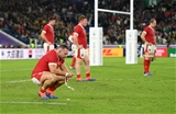 27.10.19 - Wales v South Africa - Rugby World Cup Semi-Final - Dejected Dillon Lewis of Wales at full time.