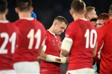 27.10.19 - Wales v South Africa - Rugby World Cup Semi-Final - Dejected Hadleigh Parkes of Wales.