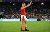 27.10.19 - Wales v South Africa - Rugby World Cup Semi-Final - Dejected Ross Moriarty of Wales.
