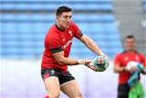 31.10.19 - Wales Rugby Training -Josh Adams during training.