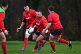 25.11.19 - Wales Rugby Training -Dillon Lewis.
