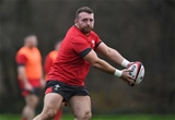 28.11.19 - Wales Rugby Training -Dillon Lewis during training.